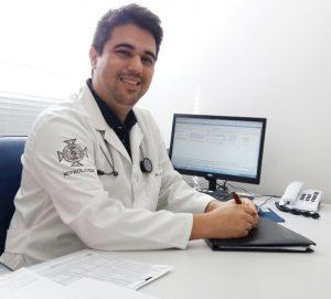 Médico nefrologista Luiz Guilherme F. Almeida