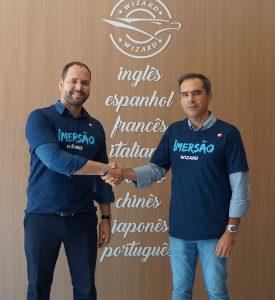 Cyro Rangel e Marcel Filho celebram parceria para a primeira imersão Wizard | Transamérica