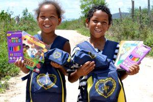 Crianças de Senador Rui Palmeira vão receber kits da LBV