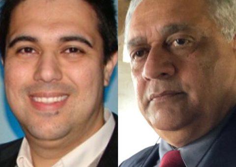Médicos Luiz Guilherme Almeida e Emmanuel Fortes
