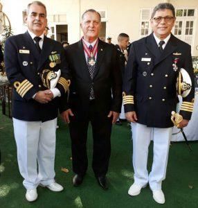 Capitão de mar e guerra Antonio Braz, Eduardo Guimarães e o Capitão de mar e guerra Levi Alves da Silva