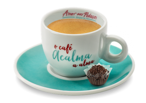 Café Expresso com Brigadeiro