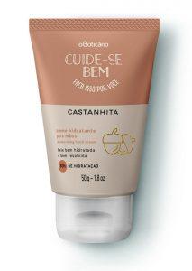Cuide-se Bem Creme Hidratante para Mãos Castanhita