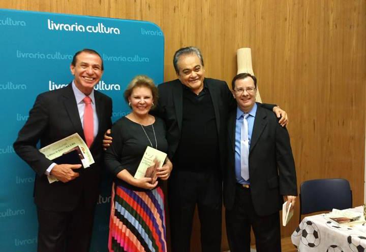 Mauro Ramos, Silvia Bruno Securato, José Nêumanne Pinto e Dias Campos, coautores