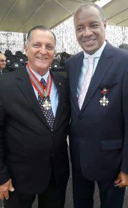 Eduardo Guimarães e José Antonio de Souza Batista, presidente da Soamar/RJ