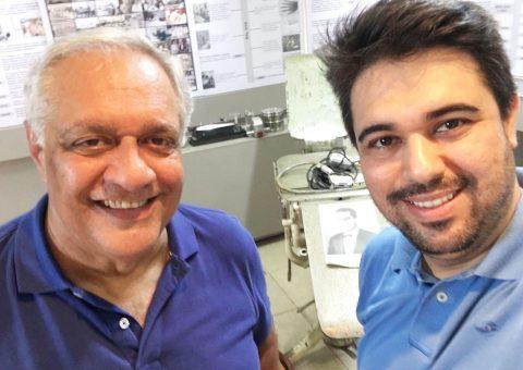 Psiquiatra Emmanuel Fortes e o nefrologista Luiz Guilherme Almeida