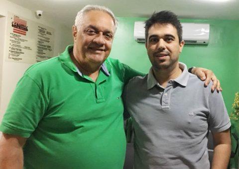 Drs. Emmanuel Fortes e Luiz Guilherme Almeida