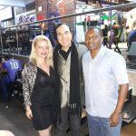 Camila Carvalho, Helcio Hime e Gilmar Rio