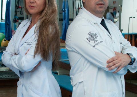 A Nutricionista Amanda Martins e o Médico Luiz Guilherme Camargo de Almeida são integrantes do GAHAS