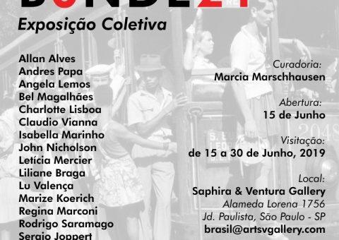 Convite Exposicao B0NDE21-SP