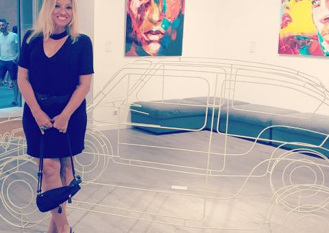 Angela de Oliveira, artista plástica e escritora