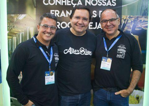 Empresários Luciano Fialho, Leonardo Lamartine e Jadir Rocha