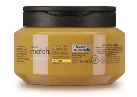 O Boticário - Máscara Match Fonte da Nutrição - R$34,90