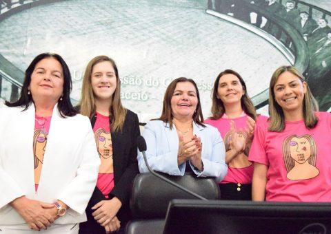 Bancada feminina da Assembleia Legislativa de Alagoas