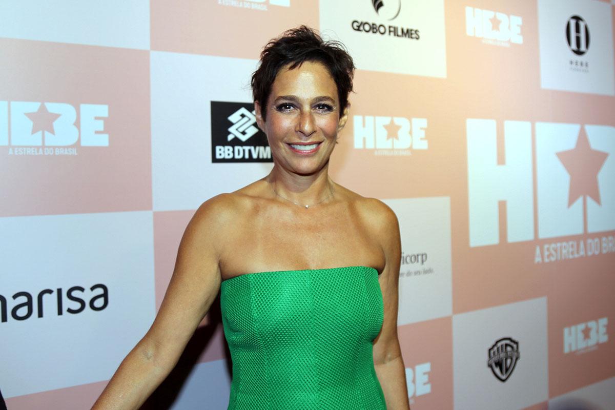 Global atriz, Andrea Beltrão (HEBE CAMARGO)