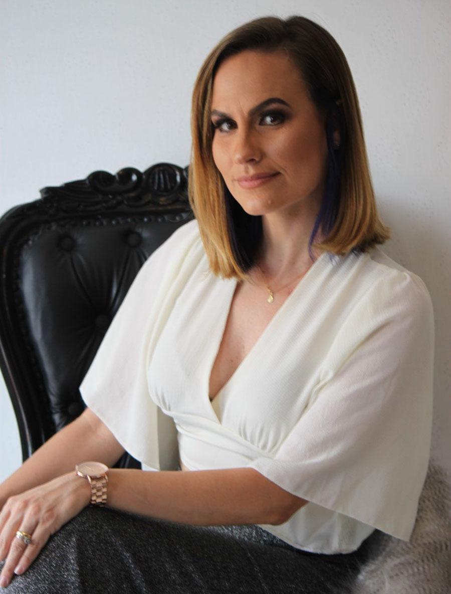 Estilista Carolina Dela Pace