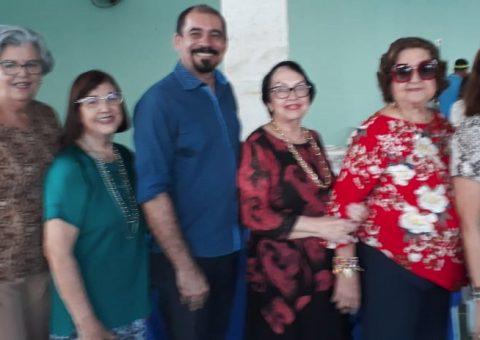 Diretoria da ABCMI/AL, Lucia Lemos, presidente; Lucila Andrade e Elizabeth Lamenta, Conselho fiscal; Brancildes Galdino, diretor de marketing; Marilucia Queiroz Cruz, Conselho fiscal, e Denise Daudt, vice-presidente