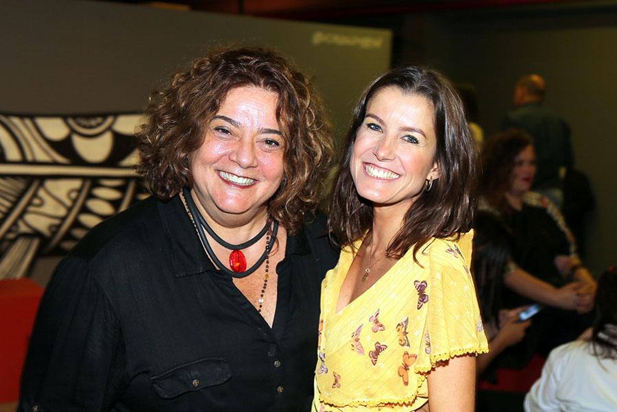Responsavel pela assessoria de imprensa, Celia Forte e Anna Junqueira