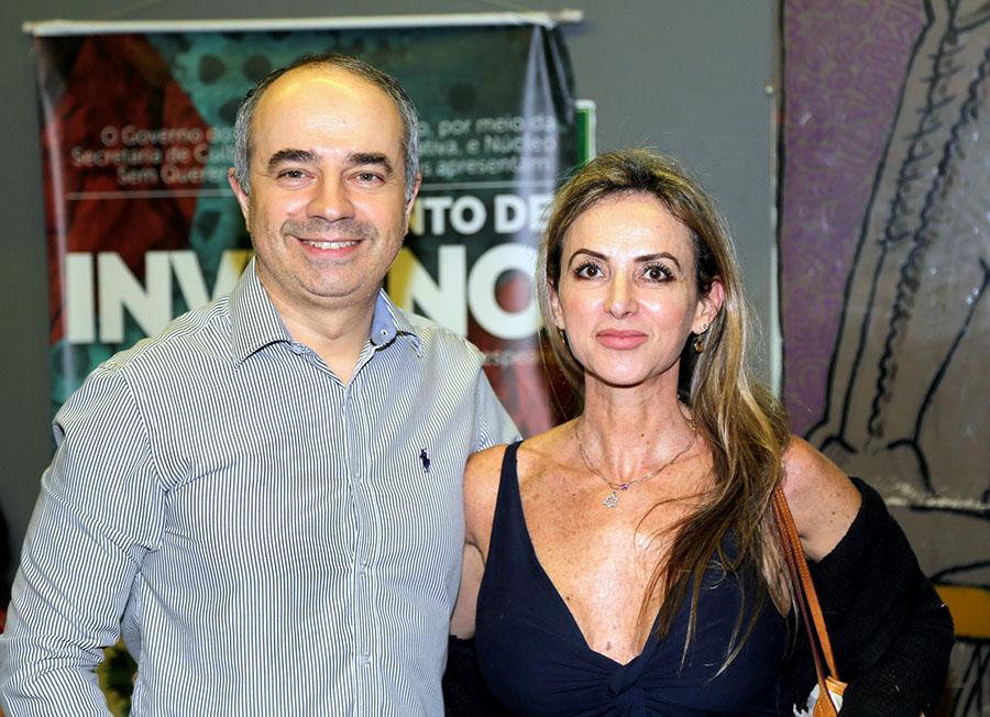 O Evaristo Martins e Gabriela Brenman