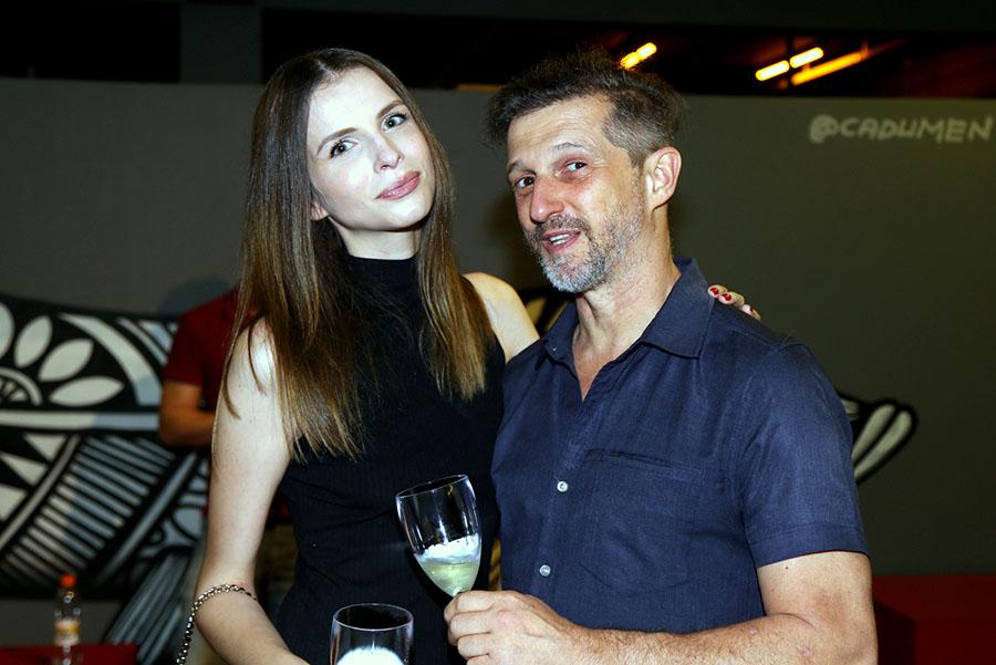 Gio Gasparini e Andre Fisher