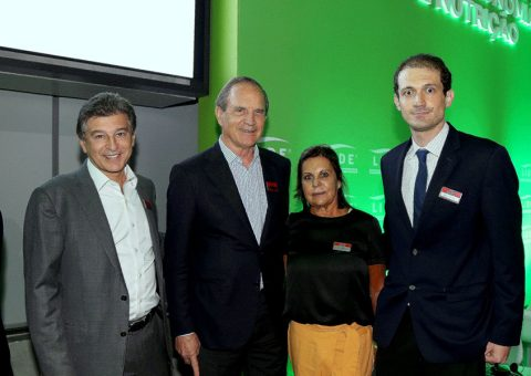Claudio Lottenberg e Luiz Fernando Furlan e Celia Pompeia e Bruno Halpern