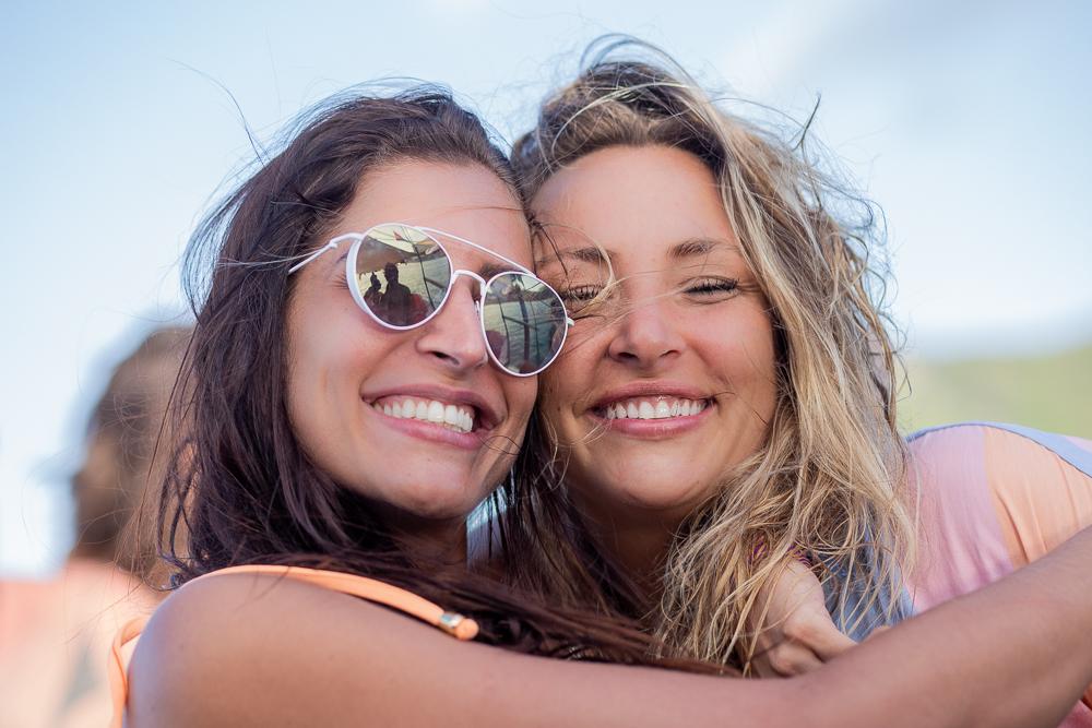 Maria Joana e Keila Zago