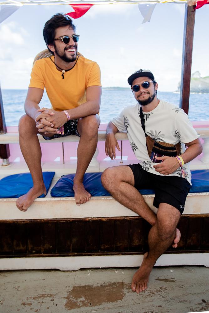 Rodrigo Simas e Bruno Gissoni