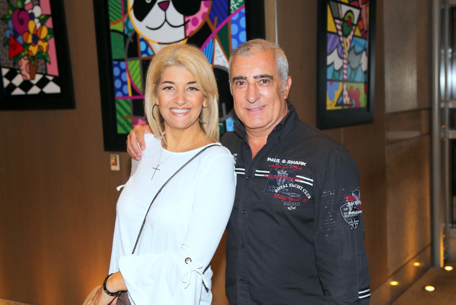O casal (leia-se Elite Magazine), Solange Giarge e Jose Luiz Ribeiro