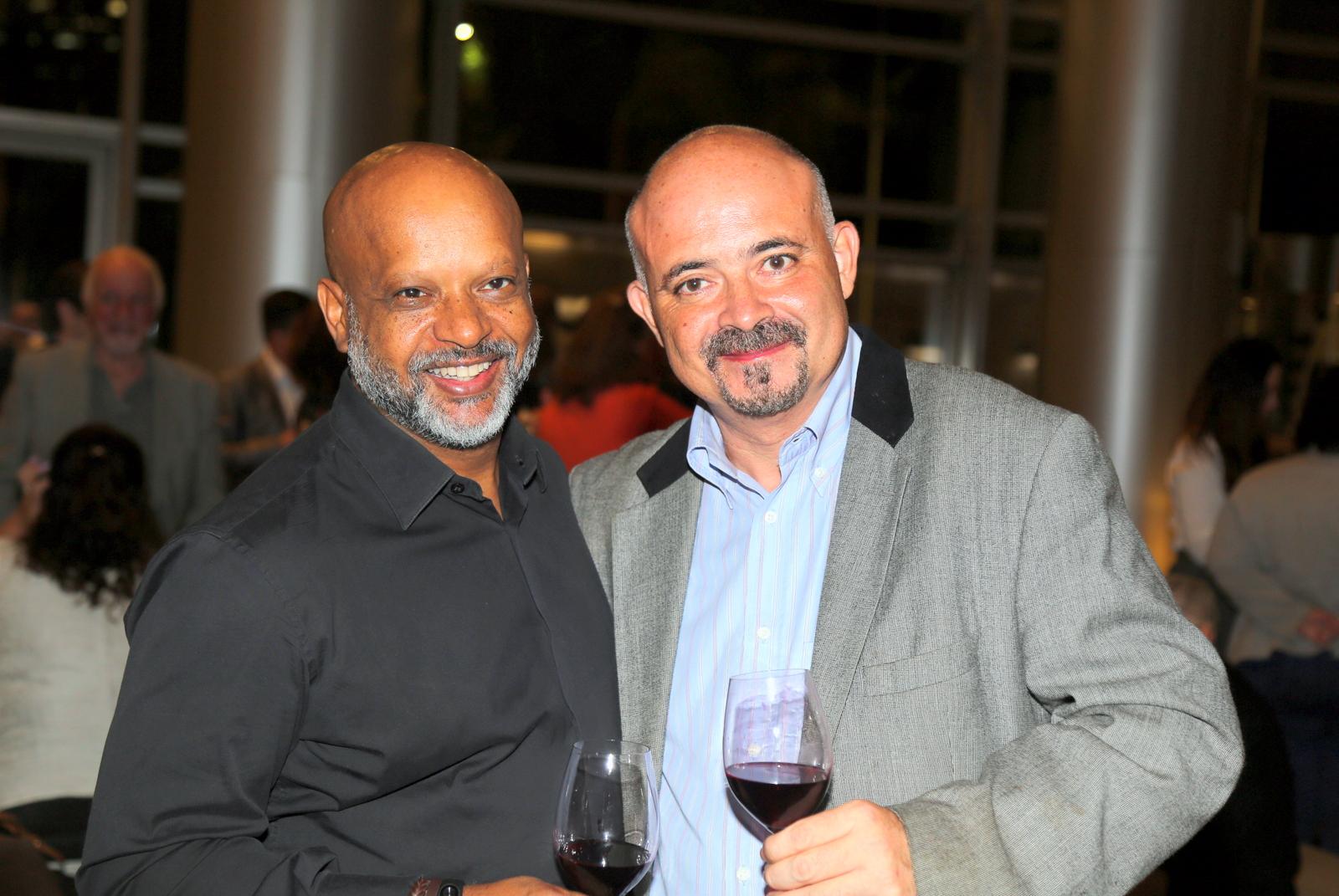 O fotografo internacional Samuel Chaves e o empresário Ney Aiyres