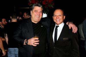 Os coordenadores de Eventos, Reinaldo e o responsável pelo buffet, J.J. Araújo