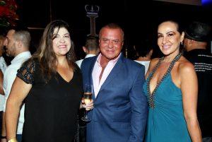 Os empresários e amigos, Cilmara Duarte e Focca Barreto e Mylene Macedo