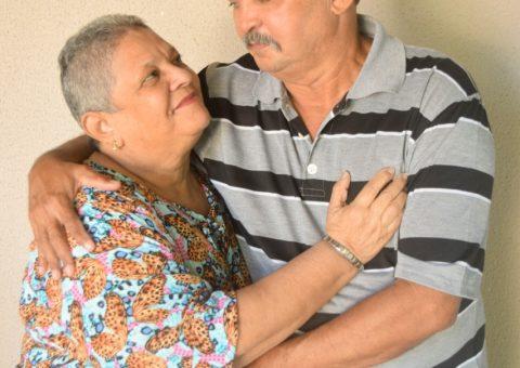 Dorcas Lemos Viana comemorou a vida ao lado da família