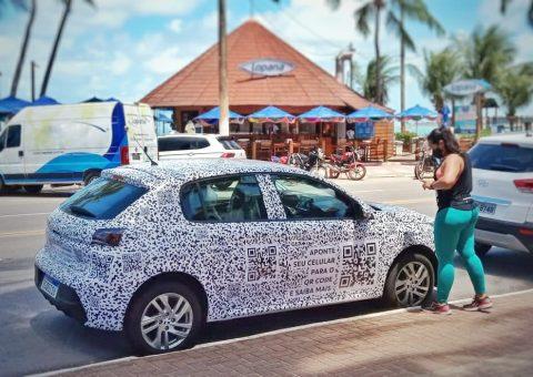 Circulando camuflado em Maceió, Novo Peugeot 208 desperta curiosidade dos alagoanos