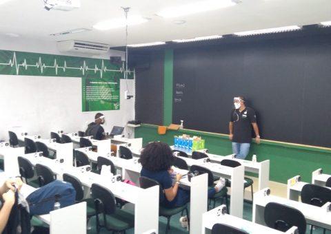 """""""Sala de Aula invertida"""", mais uma iniciativa pioneira do Hexag"""