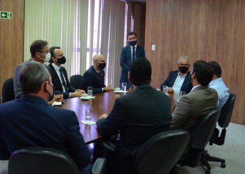 TCE/AL recebe visita do novo superintendente regional da Polícia Federal em Alagoas
