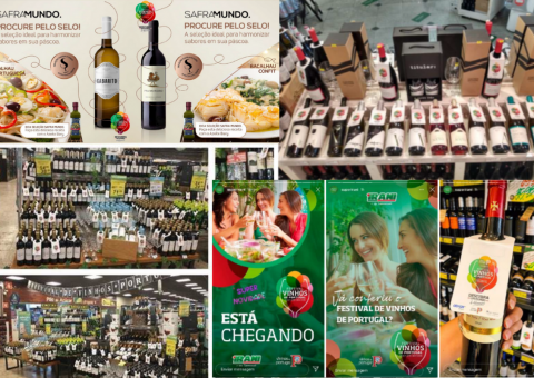 Lojas do Espírito Santo, São Paulo e Paraná ganham concurso do Festival Vinhos de Portugal