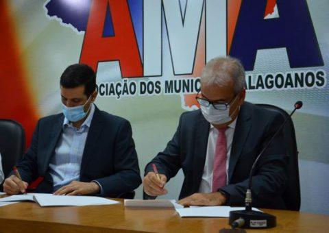 TCE, Escola de Contas e AMA assinam termo de cooperação técnica