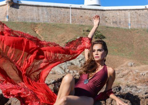 Claudia Métne surpreende seus seguidores realizando uma fashion trip em Salvador