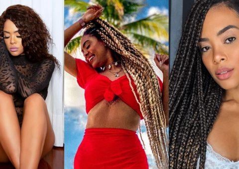 Jéssica Marisol, do 'De Férias com Ex Brasil', dá dicas de técnicas de penteado para quem está passando pela transição capilar: 'Gosto de ter a liberdade em mudar sempre'