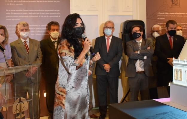 Presidente do TCE/AL participa da abertura do Centro de Cultura e Memória do Poder Judiciário de Alagoas