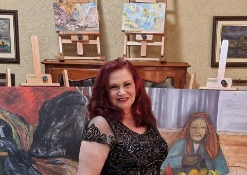 Teresa Kodama expõe as suas obras em importante Exposição na Ucrânia