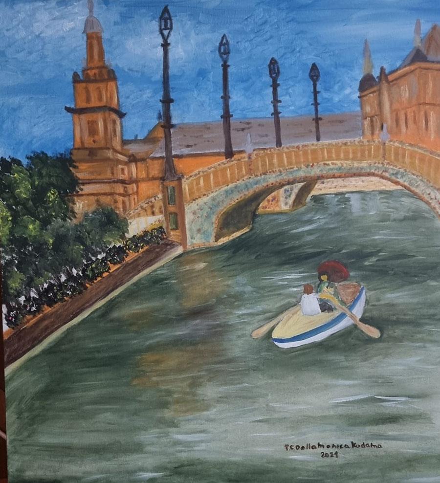 Teresa Kodama participa da Exhibition International Art Gallery da Art Nest em Paris