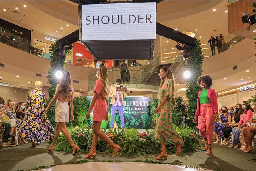 Confira imagens da abertura do Parque Fashion, no Parque Shopping