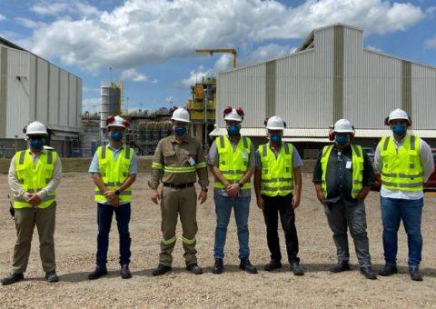 Tribunal de Contas visita Mineradora Vale Verde