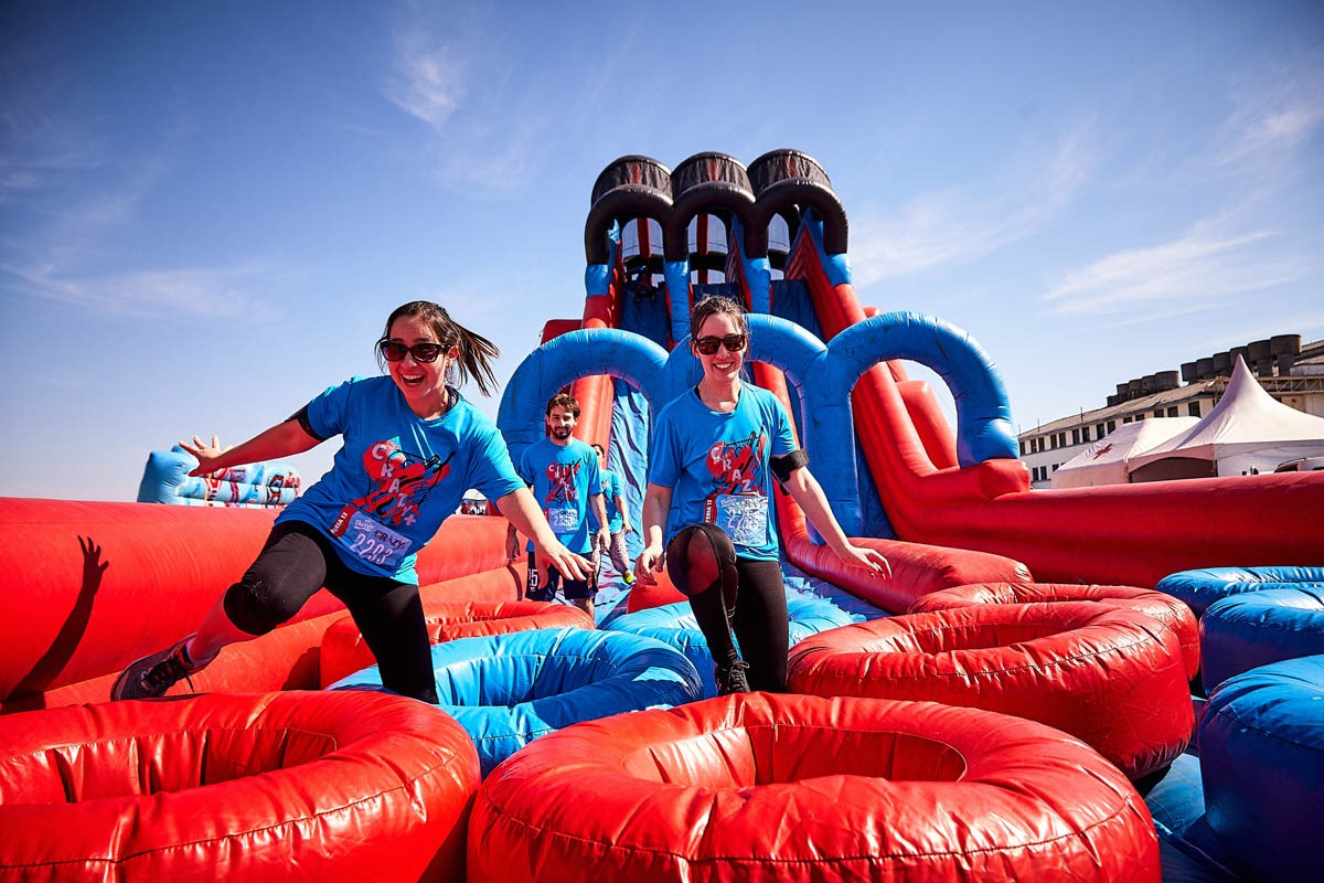 Extreme Fun: circuito de obstáculos infláveis gigantes para adultos e crianças chega a Maceió