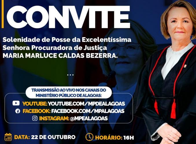 TCE/AL sedia posse da nova Procuradora de Justiça do Ministério Público